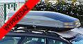UŻYWANY Autobox Xstream (Xtreme) 600 srebrny metalik 600 litrów (195x95x44cm) Jednostronne otwieranie