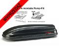 UŻYWANY Autobox Kamei Corvara 390 czarny metalik z systemem montażu na belkach ALU oraz stalowych (190x75x43cm) pojemność 390 litrów